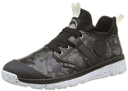 Palladium Plvil Mid Flo F, Baskets Basses Femmes, Noir (315 Black), 37 EU