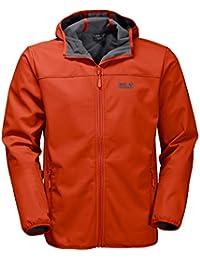 Jack Wolfskin del Norte punto chaqueta para hombre (Tejido Softshell)