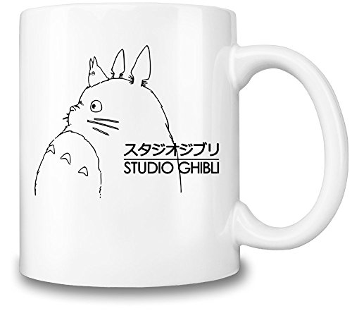 Taza de cerámica con el logo de Studio Ghibli
