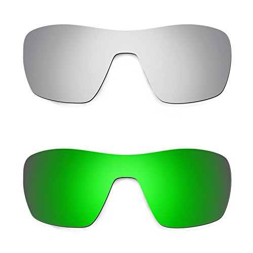 499f77cf284b4 Hkuco Plus Mens Replacement Lenses For Oakley Offshoot - 2 pair Combo Pack
