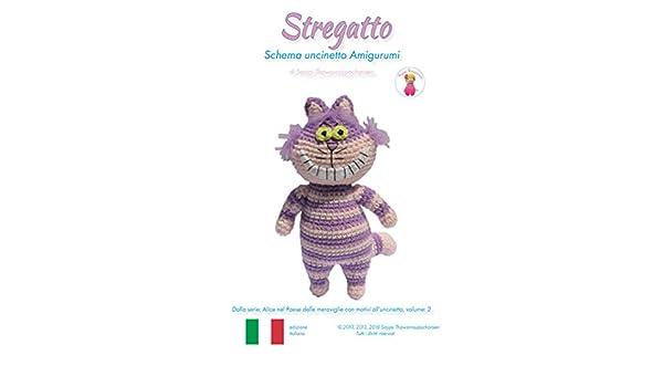 coniglietto cake amigurumi (tutorial-schema)/How to crochet rabbit ... | 350x600
