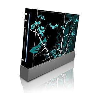 Nintendo Wii modding Designer Schutzfolie Sticker Skin – Aqua Tranquility