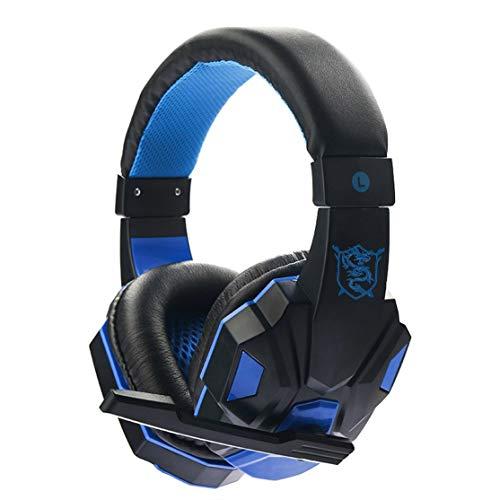 Preisvergleich Produktbild LouiseEvel215 SY830MV 3, 5 mm Gaming Headset Surround Sound über Ohr Spiel Gaming Kopfhörer Computer Kopfhörer Stereomikrofon Kopfhörer
