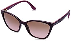 Vogue Gradient Square Womens Sunglasses - (0VO5117SI24721456 56 Light Grey Gradient Dark Grey Color)