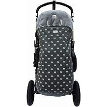 Saco de abrigo Universal para cochecito y silla de paseo Blue Heart Janabebé®