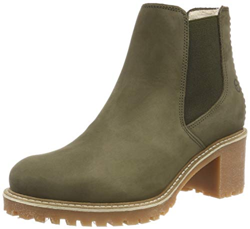 Tamaris Damen 25447-21 Chelsea Boots, Grün (Olive 722), 36 EU