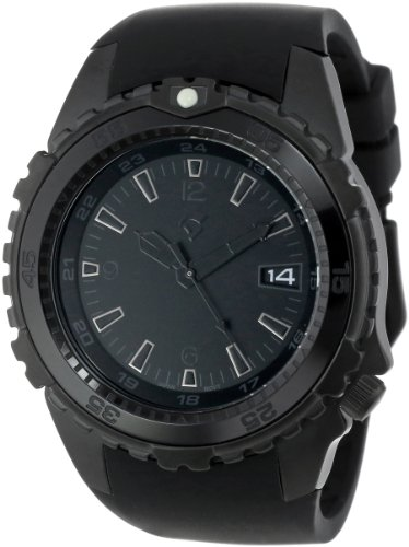 Momentum Herren-Armbanduhr XL DEEP 6 VISION Analog Quarz Kautschuk 1M-DV66B4B