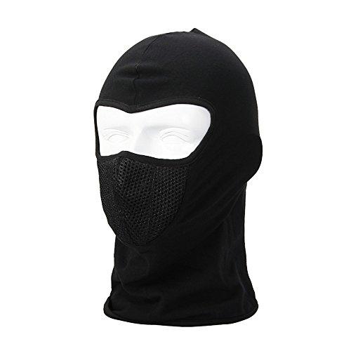 Haosen Moto esterna che guida maschere antivento Inverno copricapi sport all