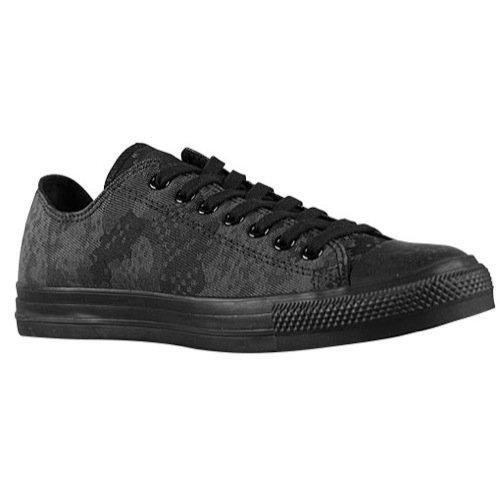 Converse Chuck Taylor Jacquard Ox, Sneaker donna Nero nero 38, Nero (nero), 41 EU