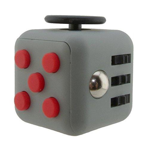 Cubo antiestrés con 6 funciones distintas (Fidget Cube) Gran calidad