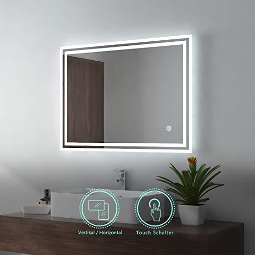 LED Espejo baño Espejo iluminación warmweissen Luz