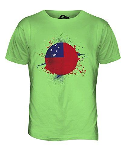 CandyMix Samoa Fußball Herren T Shirt Limettengrün