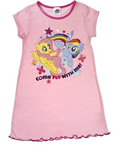 Ragazze My Little Pony baby-doll da notte Nighty Bambini Pigiama Taglia 2-8anni My Little Pony - Come Fly With Me 2/3 Anni