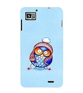 EPICCASE Curious owl Mobile Back Case Cover For Lenovo K860 (Designer Case)