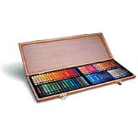 Inscribe Oil Pastel Wooden Box Set - 72 Colours by Inscribe