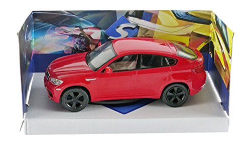 Solido 421436160 – BMW X6 M 2007, Maßstab 1:43, Fahrzeug, rot