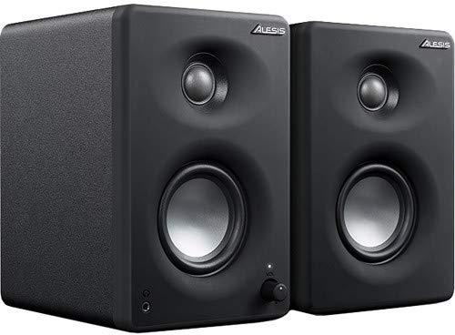 Alesis M1Active 330 USB - Professionelles USB-Desktop-Lautsprechersystem (Paar) mit USB-Audio-Interface, 3-Zoll-Aluminium-Tieftönern und Bass-Boost -