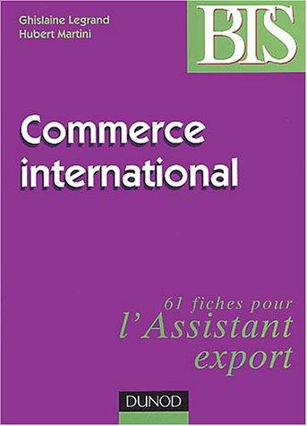 Commerce international : Méthodes et applications