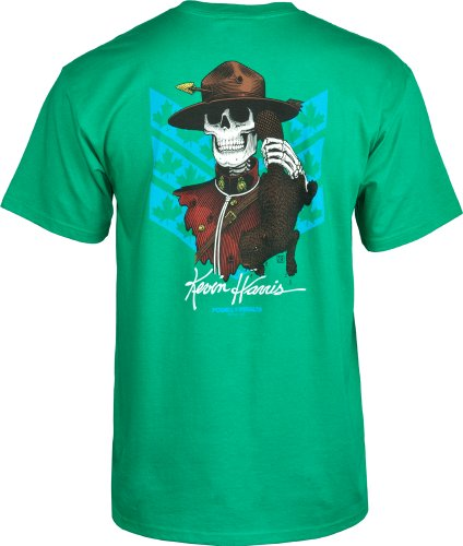 Powell Peralta Harris Trittstufe T-Shirt, unisex, grün