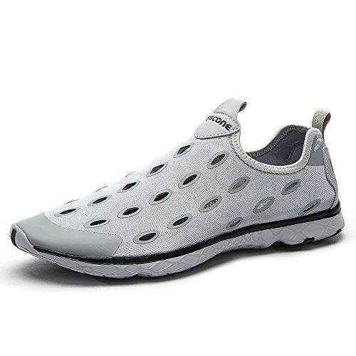 Aleader  Performance, Chaussures aquatiques pour homme Gris