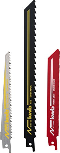 KWB Säbelsägeblätter 576003 (3 Stück, für Holz und Metall)
