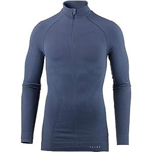 FALKE Herren Maximum Warm Zip Shirt Tight Unterwäsche