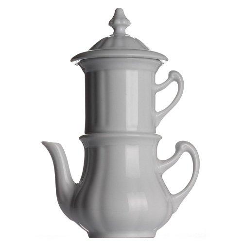 Walküre Karlsbader Kanne, Kaffeemaschine weiß 0,38 Liter