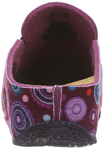 Scholl LARETH, Ciabatte donna Multicolore (purple multi/purple)