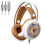 Nubwo Headphones with Mic for PS4, Xbox One, Laptop, PC, iPhone and Android Phones