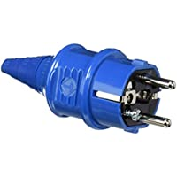 Mennekes 101700014Pegs SCHUKO 16A/230V, Outlet, IP 44Degree of Protection, Package 20, Blue - ukpricecomparsion.eu