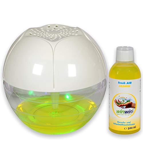 winwin clean Systemische Reinigung - AIR Blow I UV-ENTKEIMUNG I MIT LUFTREINIGER-Konzentrat Fresh AIR Jasmin 500ml -