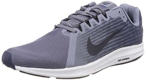 Nike Downshifter 8, Scarpe da Ginnastica Basse Uomo, Multicolore (Light Carbon/Volt/Obsidian/Black...