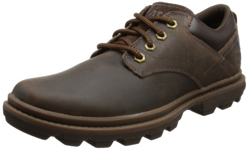 Cat Footwear  MAXWELL,  Scarpe stringate modello Derby uomo, Marrone (Braun (MENS DARK BROWN)), 42