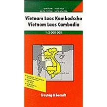 Carte routière : Vietnam, Laos, Kambodscha