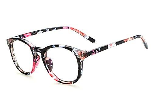 Sunbo Damen Brillengestell Gr. Einheitsgröße, Mehrfarbig - Pink