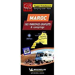 Carte des parkings gratuits et campings Maroc