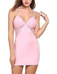 Avidlove Femme Pyjama Bretelle Lingerie Sexy Nuisette Babydoll