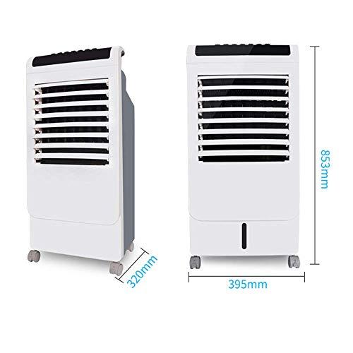 LXD Fan Haushaltsklimaanlage Single Cold Typ Fernbedienung Kühlung 7L Wassertank Mobil Bequeme Wasserkühlung 395 * 320 * 853 Mm -