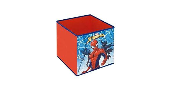 Spiderman Scatola Pieghevole Portagiochi