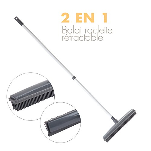 JJA 117159 Balai Caoutchouc 3 en 1 - Couleur aleatoire