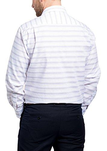 ETERNA Langarm Hemd COMFORT FIT gestreift Blau