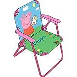 ARDITEX PP7820 Peppa Pig Chaise pliante pour Enfant Tissu 38 x 32 x 53 cm