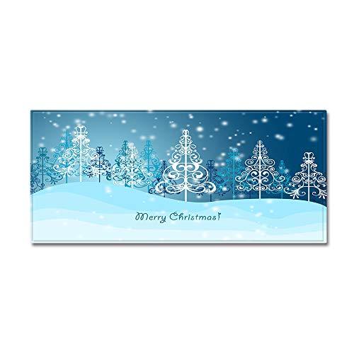 Hehh Tuoba Fish Weihnachten Teppich Küche Sofa Teppich Fußmatte Streifen Bodenmatte,B,60 * 180cm