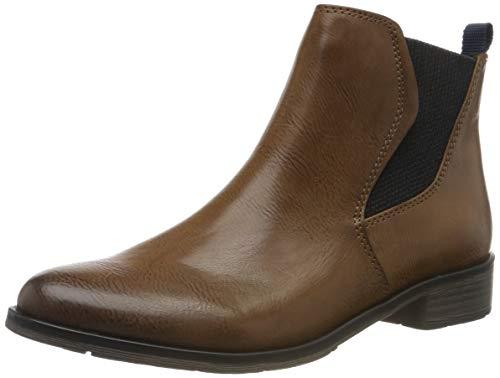 MARCO TOZZI Damen 2-2-25040-33 Chelsea Boots, Braun (Cognac Antic 310), 39 EU