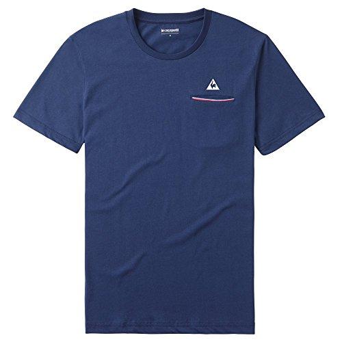 T-Shirt LE COQ SPORTIF Fluorin - L, Bleu Marine