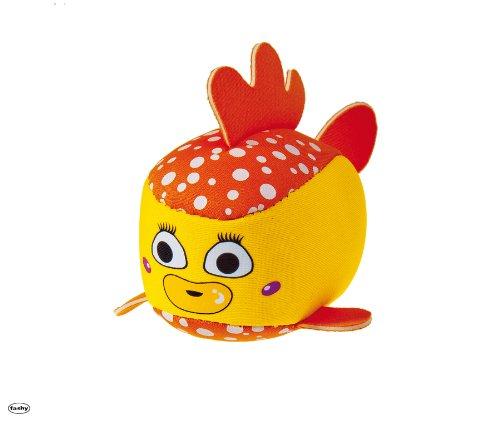 Fashy 8601 Badespielzeug Fisch (Schwammtier) - gelb orange
