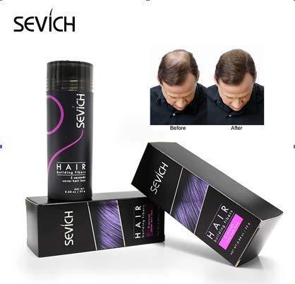 SEVICH – Haarauffüller – Streuhaar – Schütthaar – Haarverdichtung /10 Farben in 12g und 25g sofort lieferbar! hier (25g, dunkelbraun)