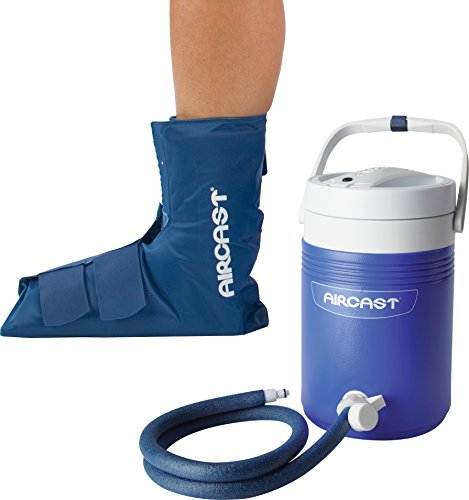 a5b29175ff Aircast Cryo/Cuff Cold Therapy: Ankle Cryo/Cuff with Non-Motorized (