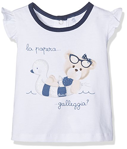 chicco-90618-t-shirt-mixte-bebe-blanc-white-et-blue-62-taille-fabricant-062