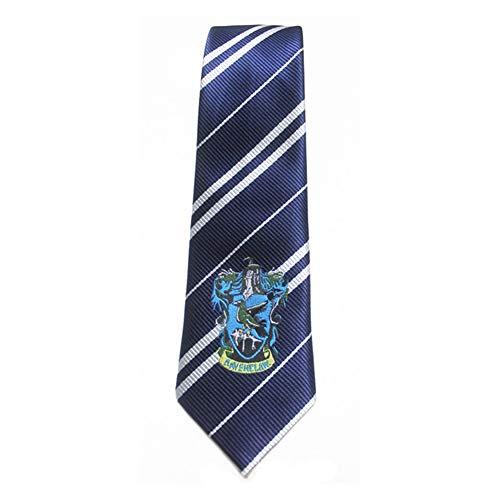 KEKEDA Lazo de Lujo de Harry Potter Gryffindor, Corbata a Rayas de la casa de Harry Potter Corbata